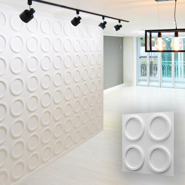 3D Wall Panels - RINGS