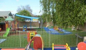Child Care Synthetic Turf Installation