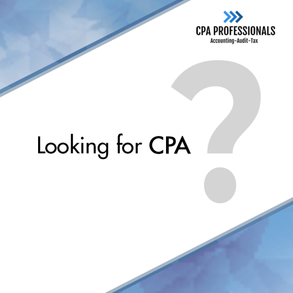 1 Looking For CPA