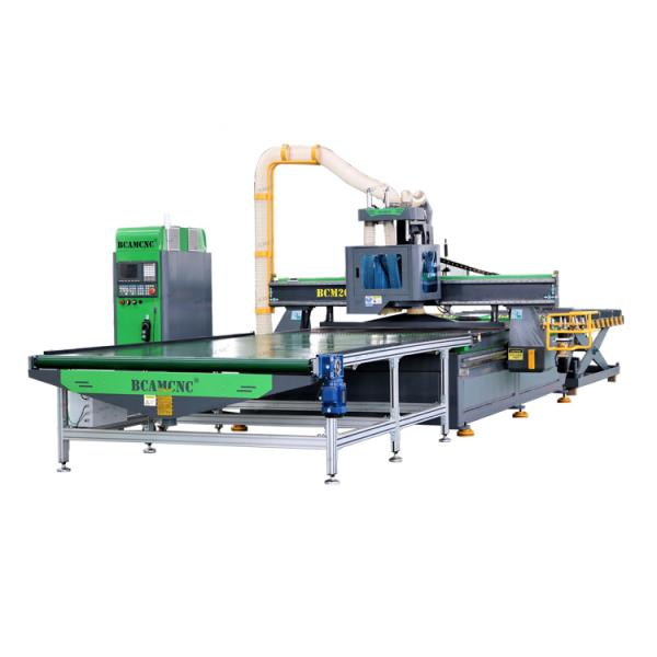 Furniture making machine with cnc robot arm for panel cabinet woodworking